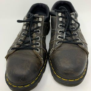 Doc Martens AW004 Dark Brown Leather Oxford